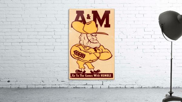 Vintage Texas A&M Ol Sarge Art