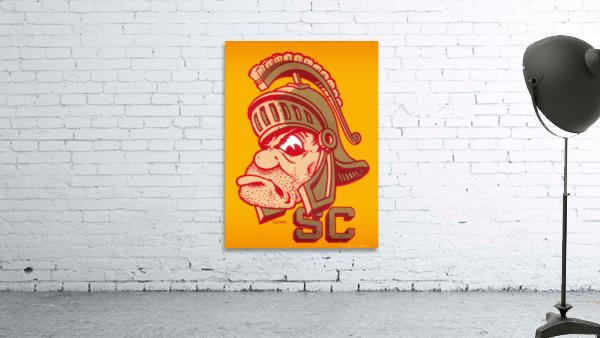Vintage Fifties SC Trojan Art