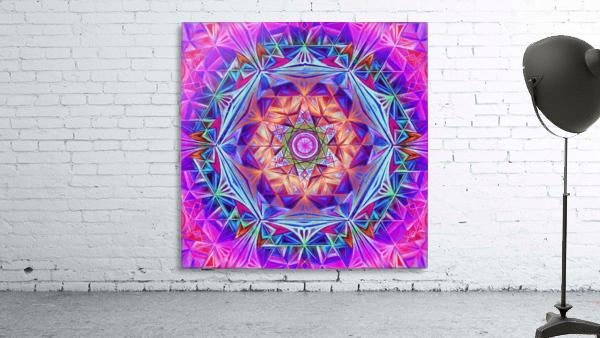Sacred Geometry Mandala Handdrawing