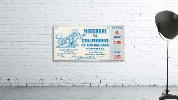 1937_College_Football_California vs. Missouri_Los Angeles Coliseum