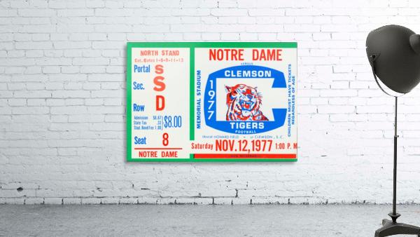 1977 Notre Dame vs. Clemson