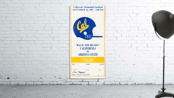 1987 Cal Bears vs. Arizona State