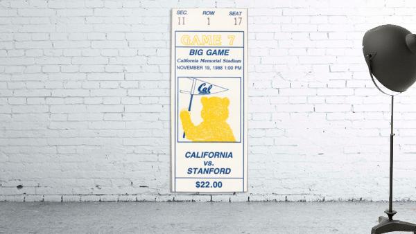 1988 Cal vs. Stanford