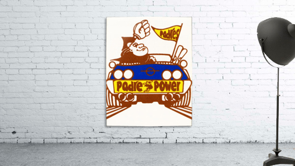 1976 padre power poster san diego