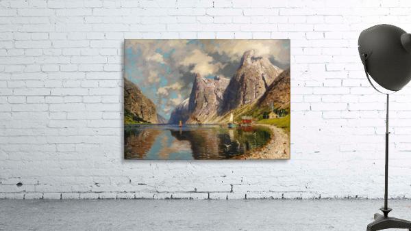 Sommer im Fjord