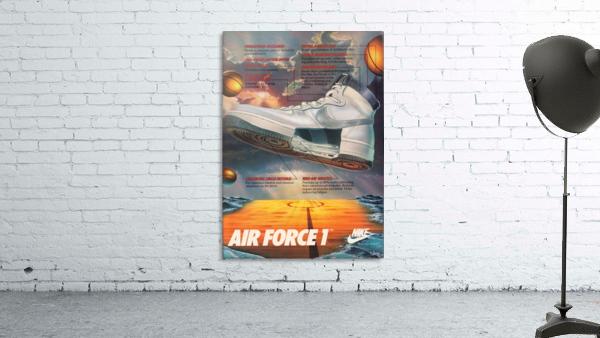 1984 Nike Air Force 1 Shoe Advertisement