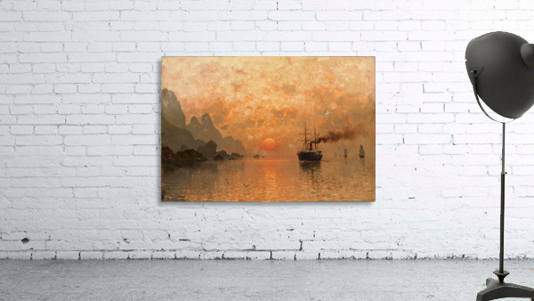 Ships in the Sunset