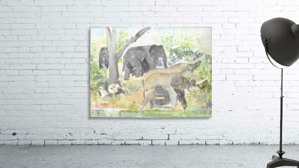 African Elephants 1