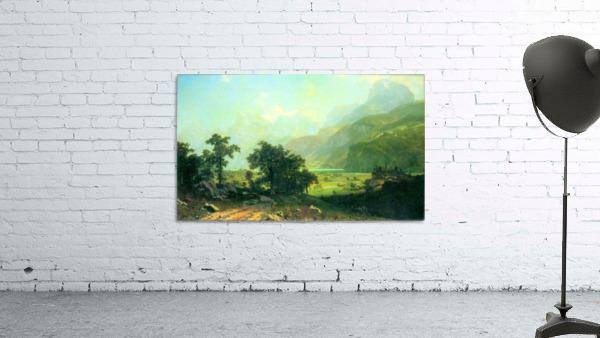 Lucerne Switzerland by Bierstadt