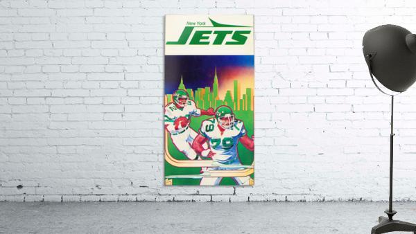 1981 new york jets football art