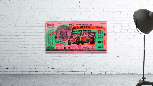 1951 indianapolis 500 mile sweepstakes auto race
