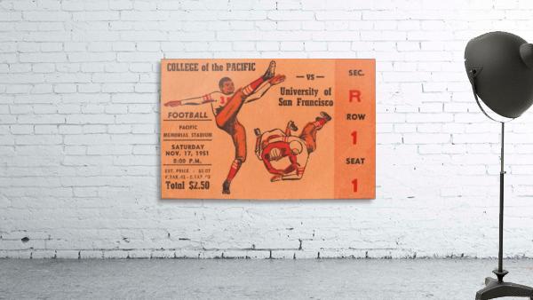 1951 college of the pacific university of san francisco stockton california