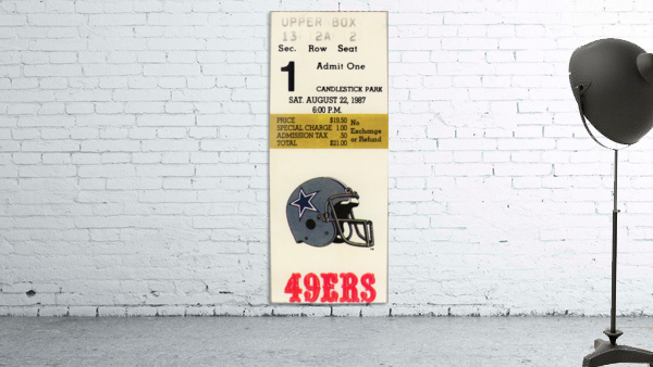 1987_National Football League_San Francisco 49ers vs. Dallas Cowboys_Candlestick Park