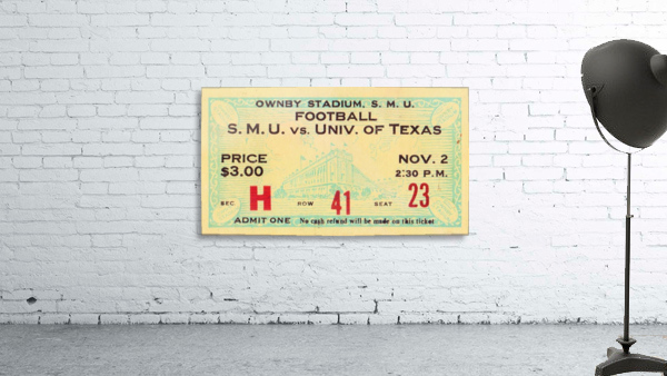1935 SMU National Champions vs. Texas