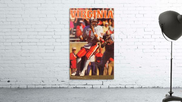 1986 virginia cavaliers football poster