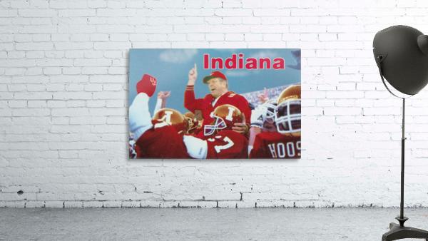 1987 indiana hoosiers iu football wall art