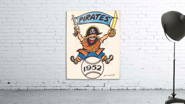 1952 pittsburgh pirates artist cy hungerford