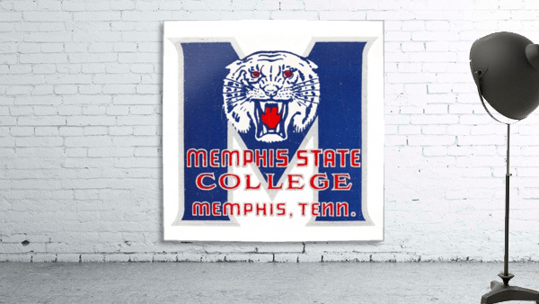 1950s Memphis State College Tigers