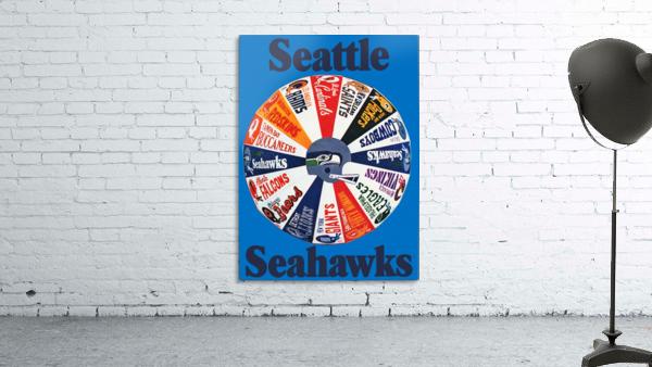 1976 seattle seahawks art