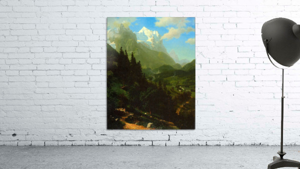 Matterhorn by Bierstadt