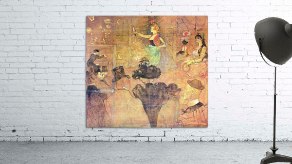 Mauri Dance by Toulouse-Lautrec