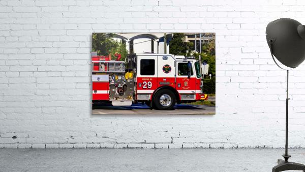 City of Atlanta Fire Engine No 29 6665