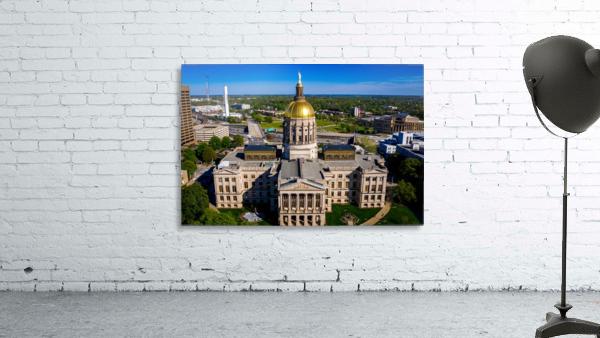 Georgia State Capitol Building   Atlanta GA 0639