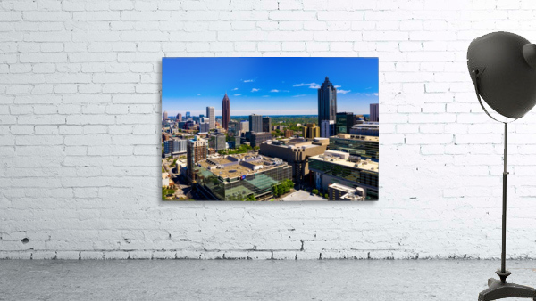Downtown Atlanta Aerial View   Atlanta GA 0584