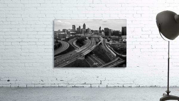 Interstate 75 85 Aerial View   Atlanta GA 0225