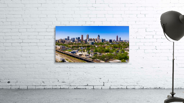 Atlanta GA  Panoramic Skyline 0618