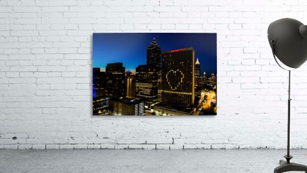 Marriott Marquis Aerial View   Atlanta GA 0660
