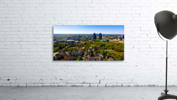 King and Queen Buildings Aerial View   Atlanta GA 0561
