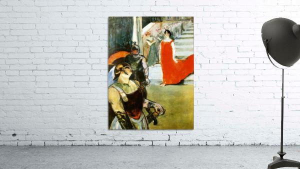 Messalina Descending by Toulouse-Lautrec