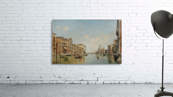 View of the Grand Canal of Venice