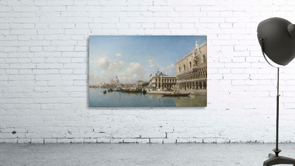 The Doge Palace and Santa Maria Della Salute