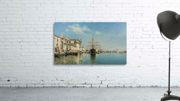 La Chiesa Gesuati from the Canale della Giudecca, Venice