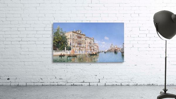 The Grand Canal Looking Towards Santa Maria Della Salute