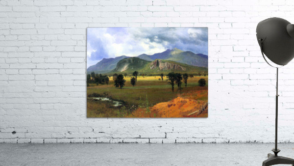 Moat Mountain, Intervale, New Hampshire by Bierstadt