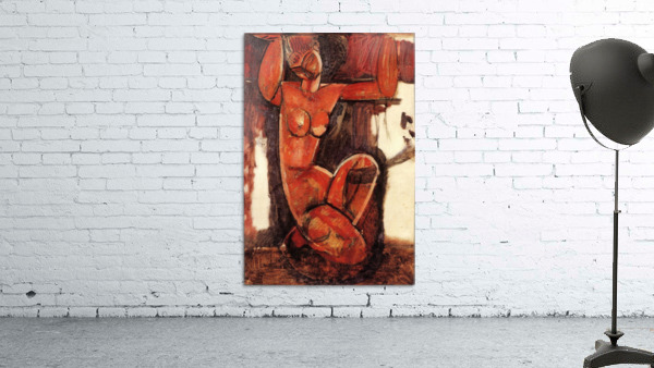 Modigliani - Caryatid -5-