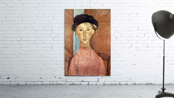 Modigliani - Girl with Hat