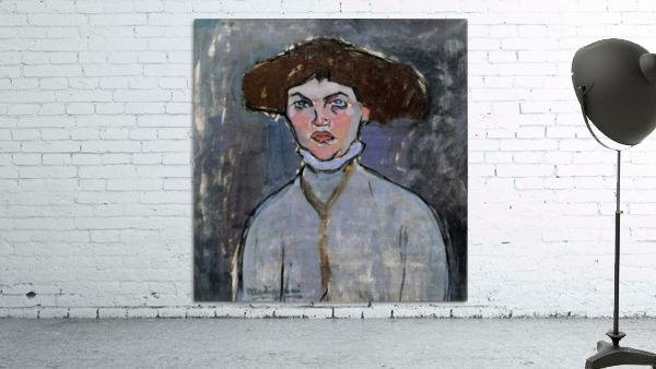 Modigliani - Head of a young woman