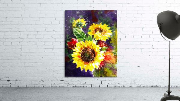 Impressionism And Sunflowers