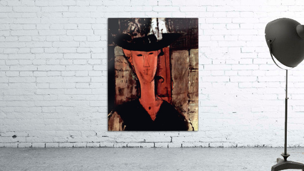 Modigliani - Lady With Hat