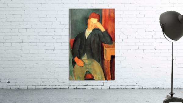 Modigliani - Peasant boy -2-