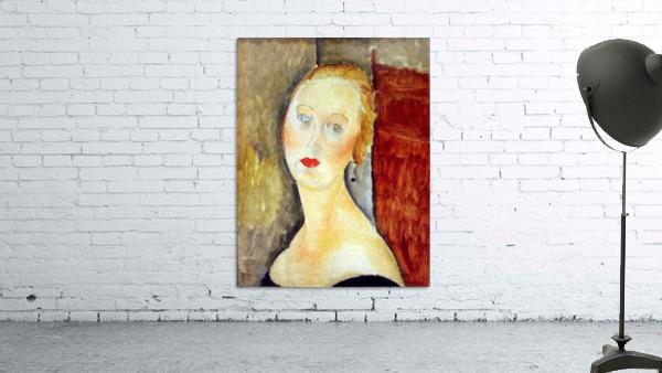 Modigliani - Portrait de Germaine Survage