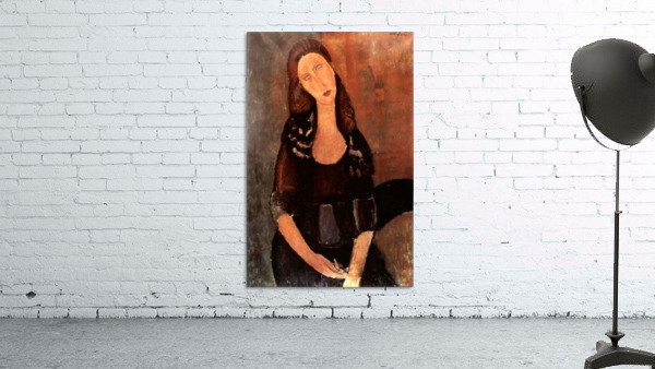 Modigliani - Portrait of Jeanne Hebuterne -3-