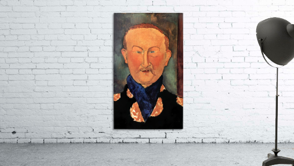 Modigliani - Portrait of Leon Bakst