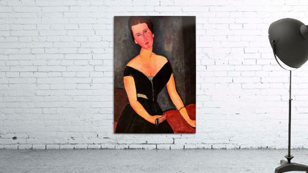 Modigliani - Portrait of Mrs van Muyden