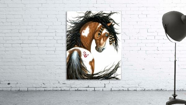 Majestic Pinto Horse