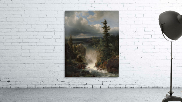 Landscape with a creek